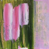 be brave little one, Kimberley Bruce Modern Contemporary Abstract Art