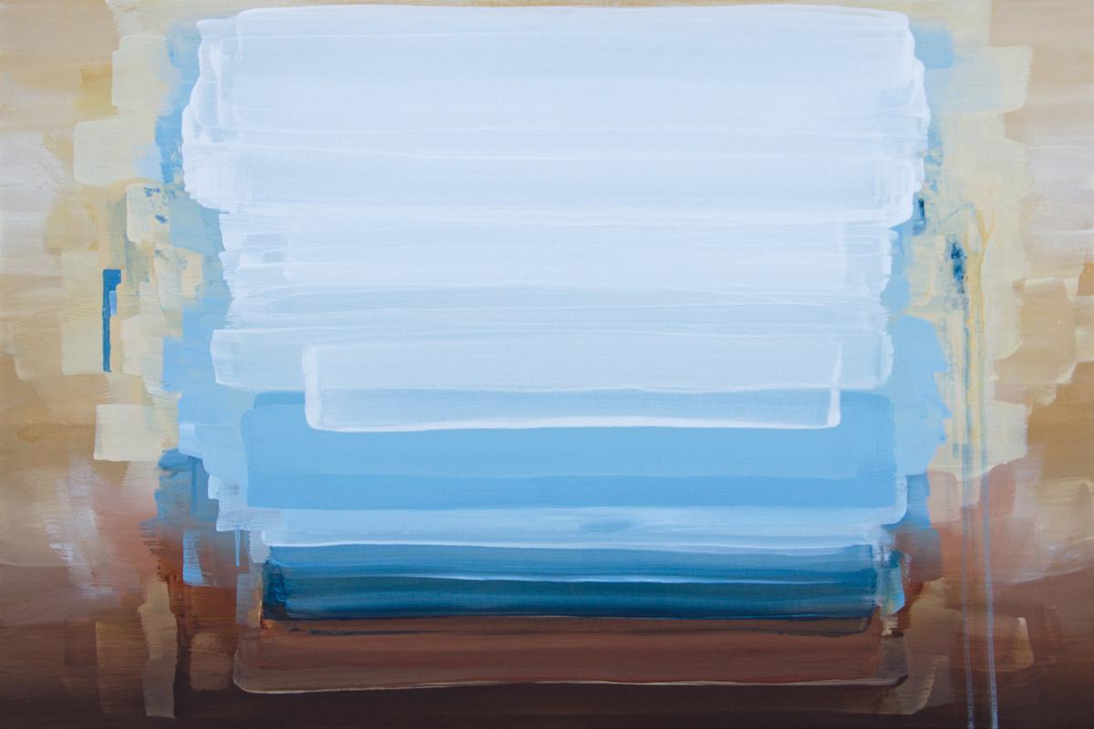 Aquarius, Abstract Painting