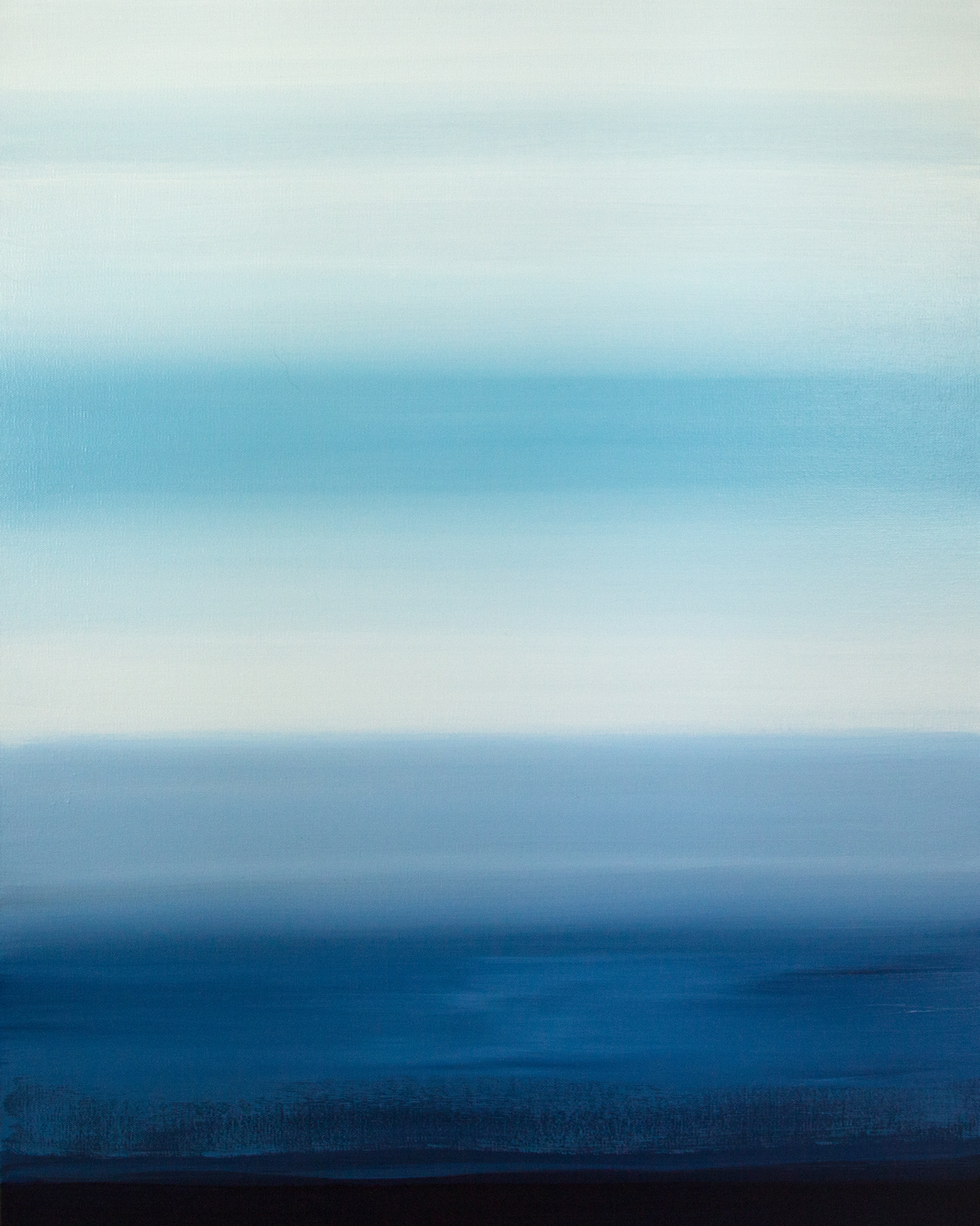 Salt in our Sentences, Abstract Seascape Painting