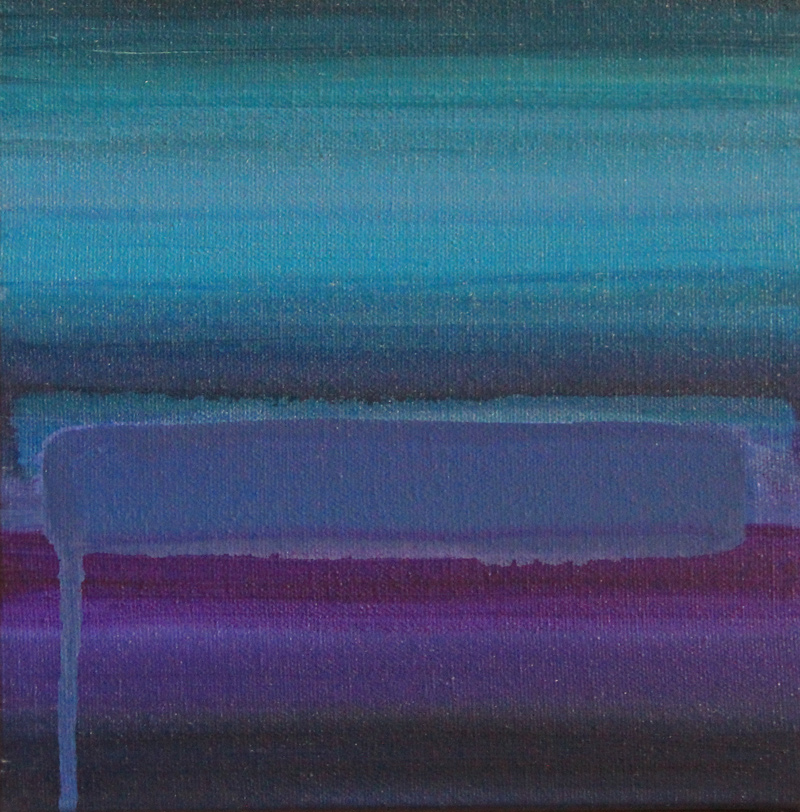 Voodoo Blue, Abstract Painting