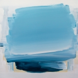 An Ice Veiled Ocean, Abstract Painting